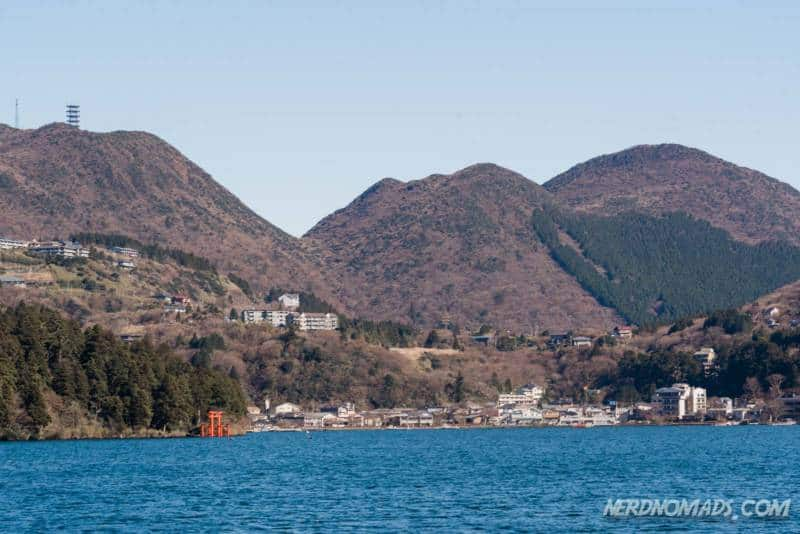 Motohakone Port Lake Ashi Hakone