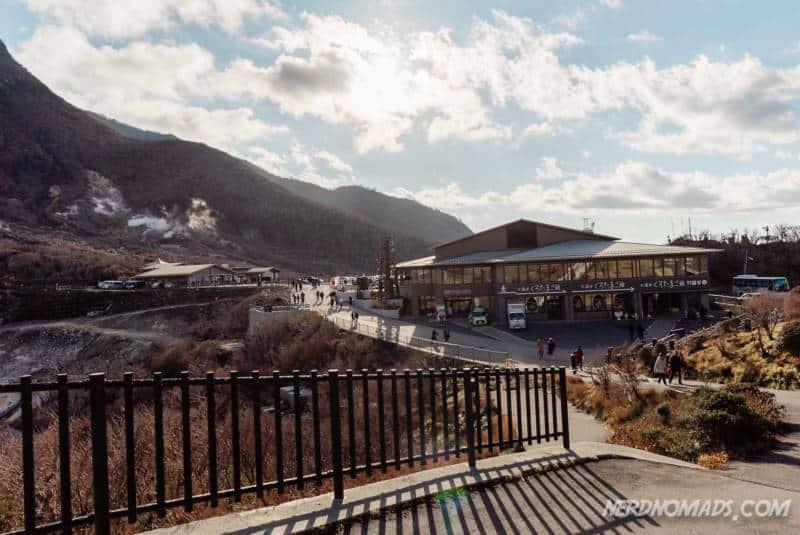 Owakudani Ropeway Station Hakone