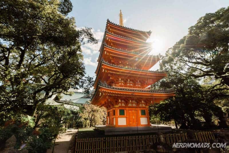 Big Buddha Tochoji Temple Fukuoka