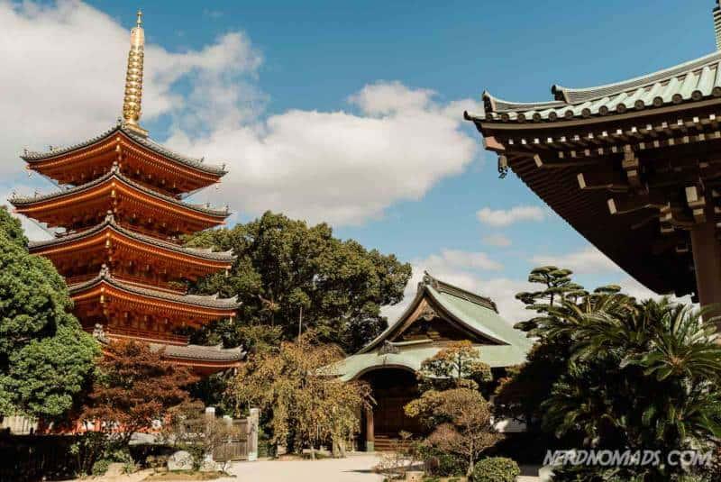Tochoji Temple Fukuoka