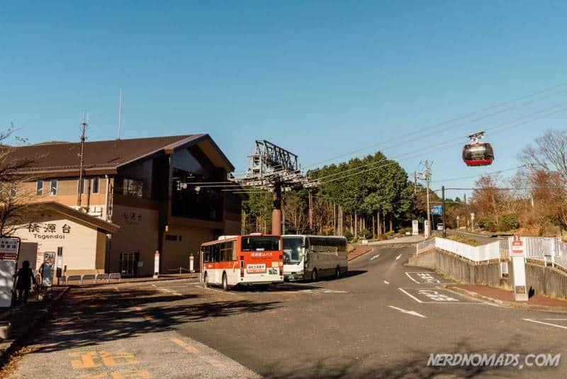 Togendai Station Hakone Ropeway
