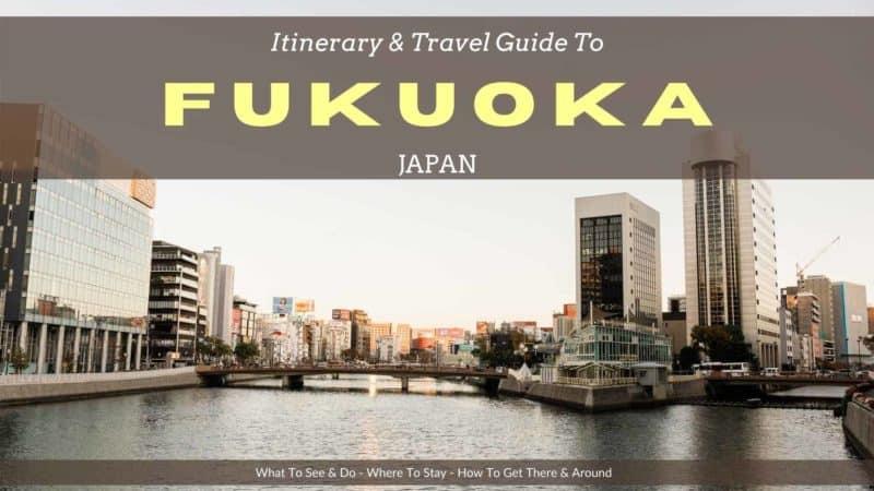 What to do in Fukuoka