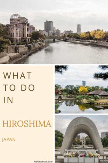 Hiroshima itinerary guide