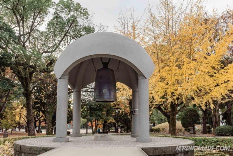 Bell of Peace at Hiroshima Peace Memorial Park