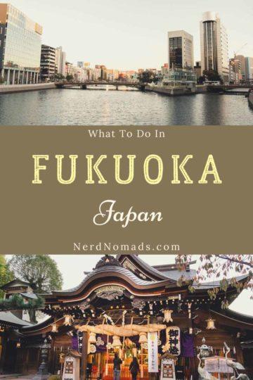 What to do in Fukuoka, Japan