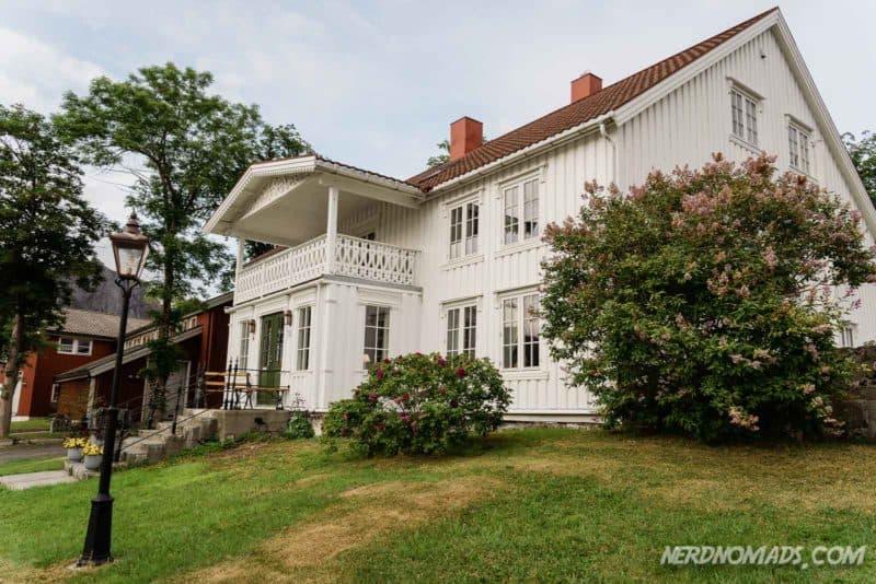 The Berg Manor House on Svinoya