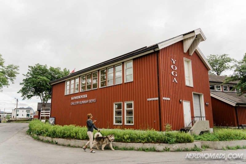 Gunnar Berg Art Gallery on Svinoya, Svolvaer, Lofoten