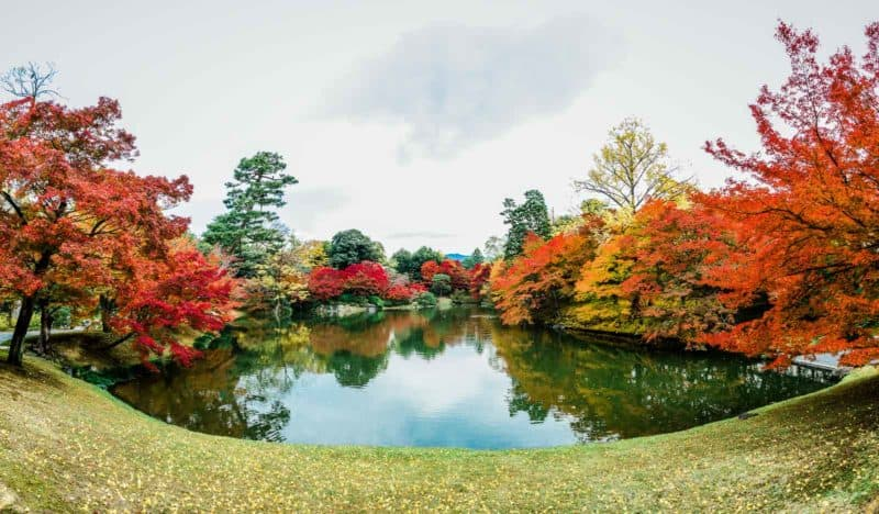 Sento Imperial Palace at Kyoto Imperial Palace garden