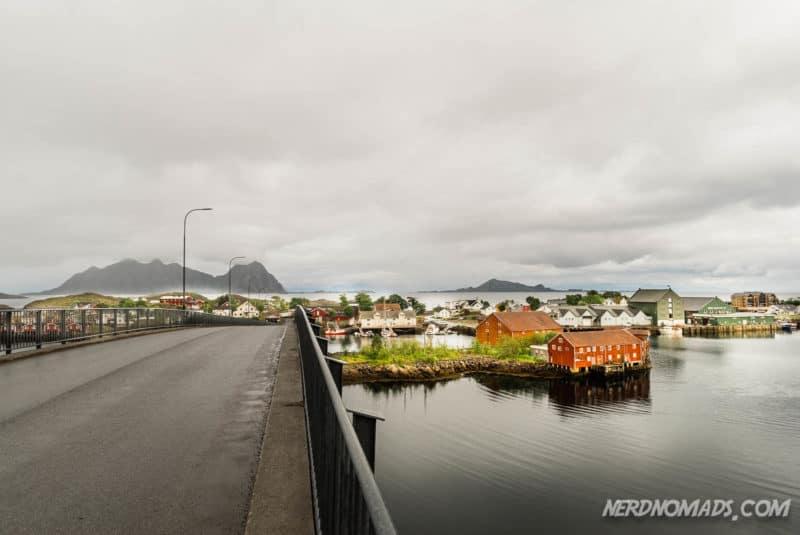 Svinoya Bridge Svolvaer, Lofoten