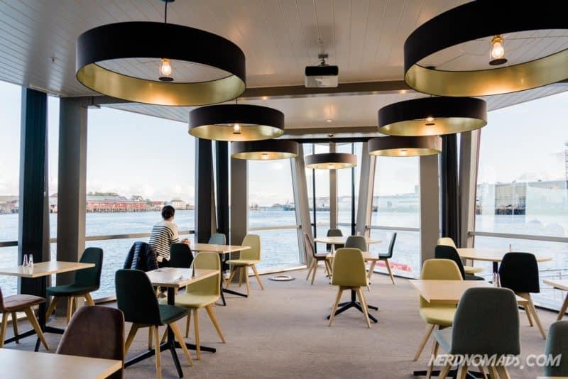 Breakfast area at Scandic Hotel Svolvaer
