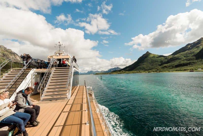Trollfjord cruise with Brim Explorer