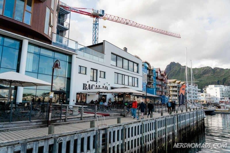Downtown Svolvaer Lofoten