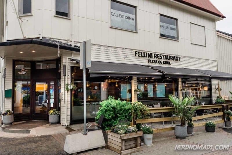 Fellini Restaurant Svolvaer Lofoten