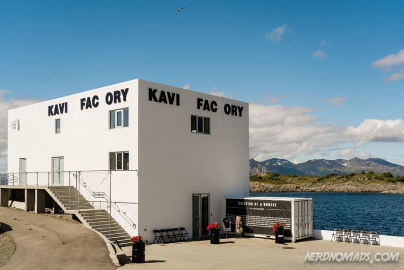Kaviar Factory in Henningsvaer Lofoten