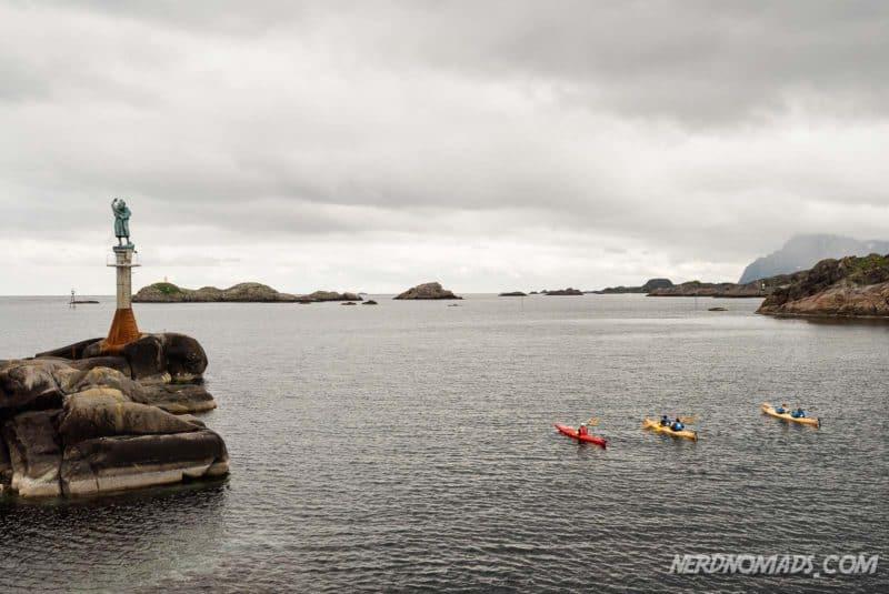 Kayaking Svolvaer Lofoten
