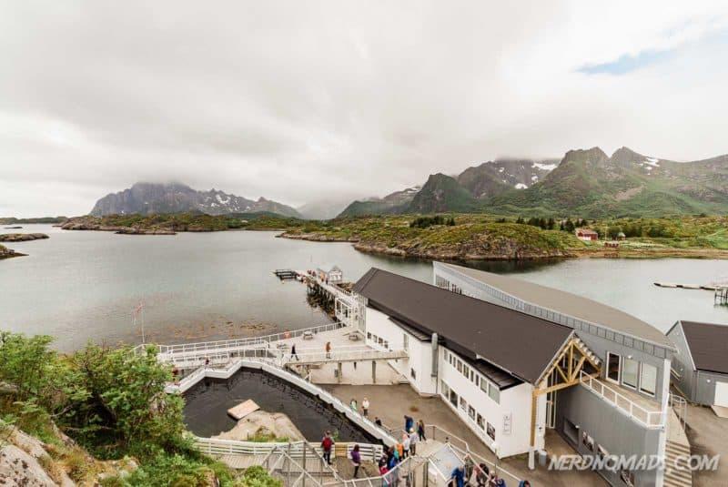Lofoten Aquarium/ Lofotakvariet i Kabelvåg