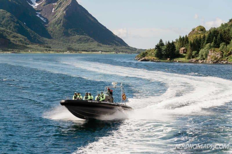 Rib tour to Trollfjord from Svolvaer, Lofoten