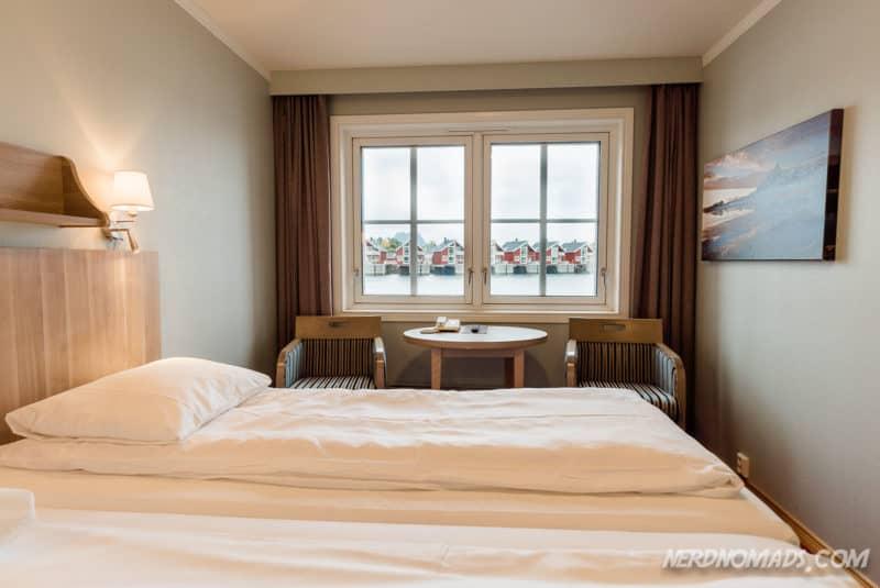Room at Scandic Hotel Svolvaer