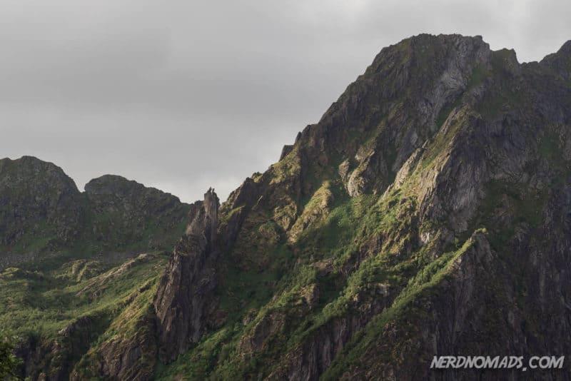 Svolvaergeita Mountain Lofoten