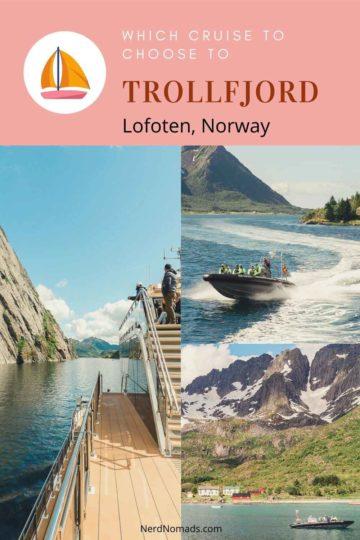 Trollfjord Cruise, Lofoten, Norway