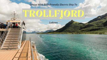 ECO-friendly Trollfjord Cruise with Electric Ship, Lofoten