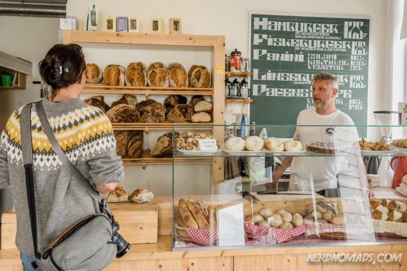The lovely Unseld Bakery in Kabelvåg, Lofoten