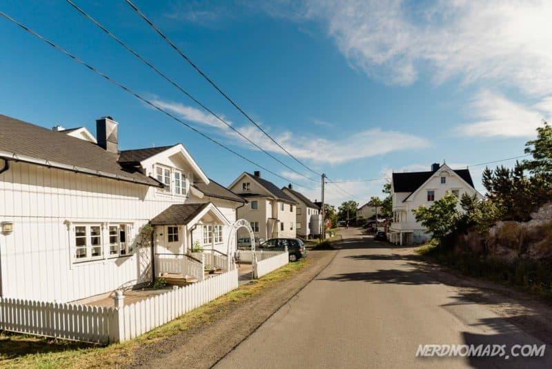 Cozy streets in Henningsvaer