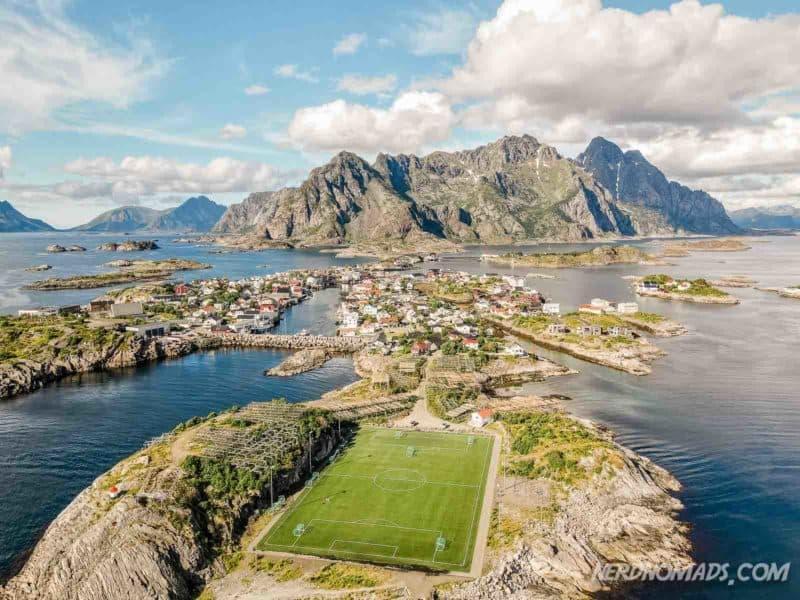 Henningsvaer Football Field