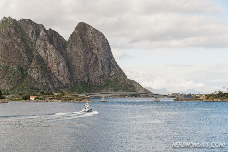 A great way to see the scenic landscape that surrounds Reine is a boat trip on Reinefjord