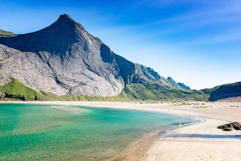 Bunes Beach, Reine, Lofoten, Norway