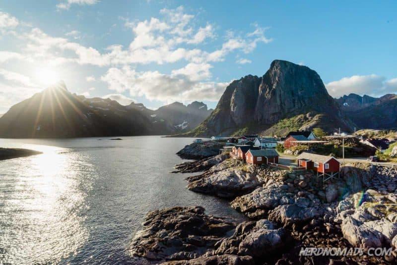 Best photo spot in Reine, Lofoten