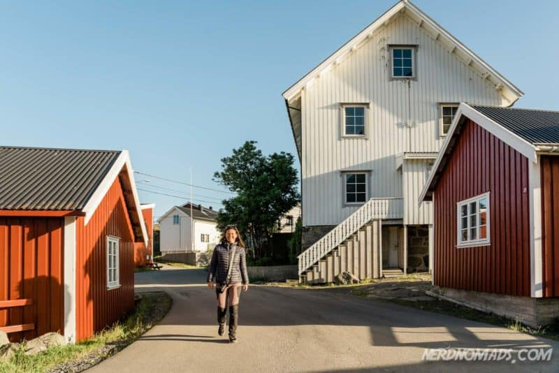 Eliassen Rorbuer Accomodation, Reine, Lofoten, Norway