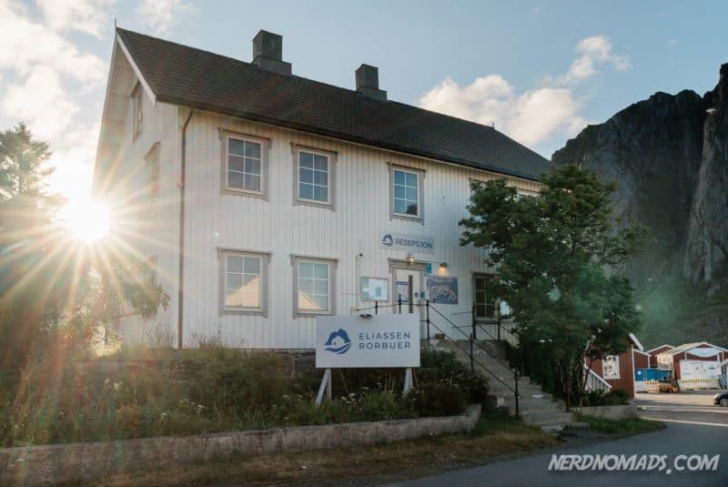 Eliassen Rorbu Accommodation Reception, Reine, Lofoten