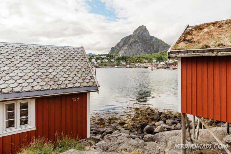 Reine rorbuer in Lofoten, Norway