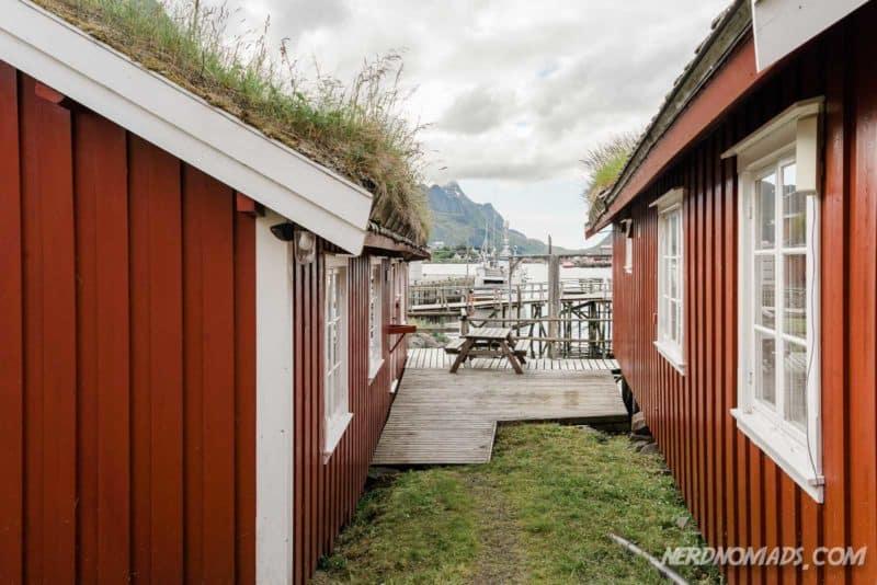 Reine Rorbuer accommodation in Reine, Lofoten