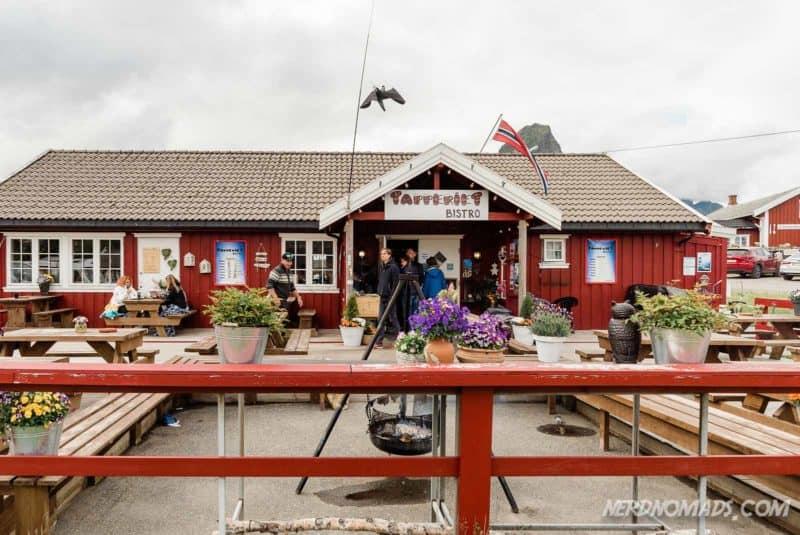 Tapperiet Bistro in Reine, Lofoten, Norway