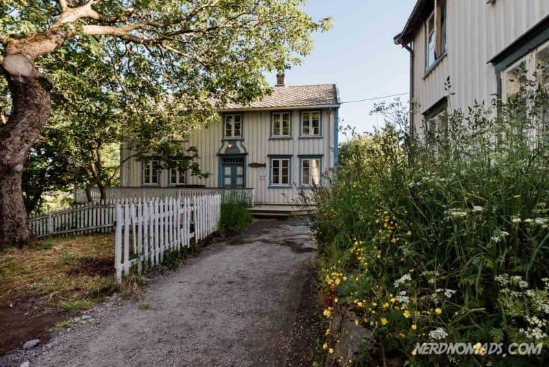Manor house in Å, Lofoten, Norway