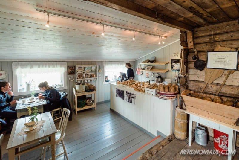 Bakery at Nusfjord Lofoten