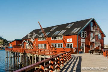 Brygga Restaurant in A Lofoten