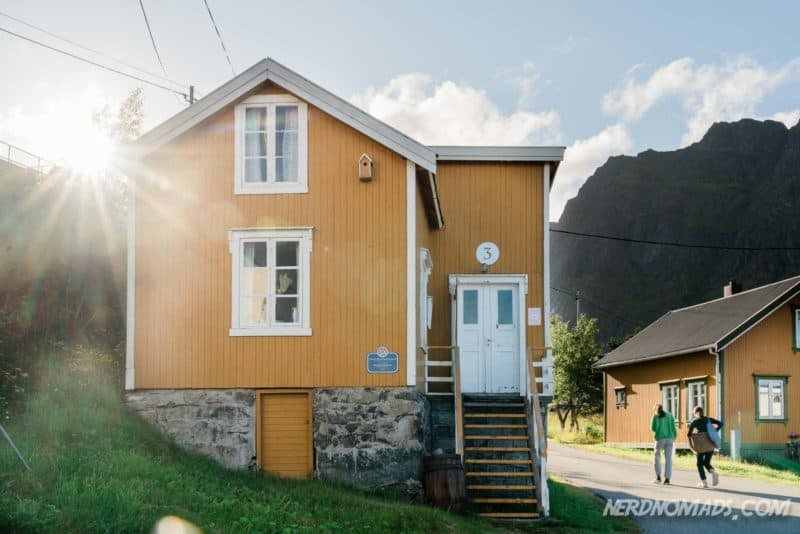 Fishermans House Norwegian Fishing Village Museum A Lofoten