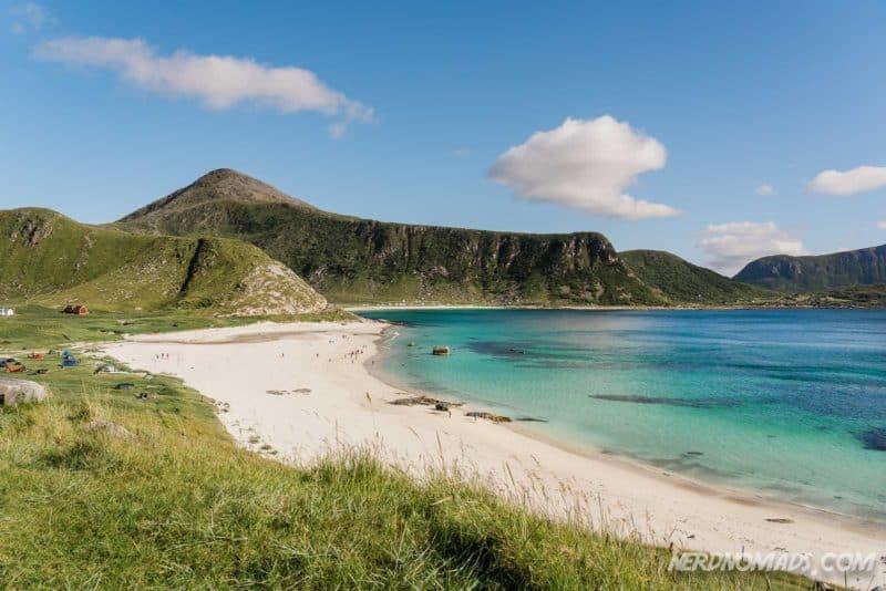 Europes best beach Haukland Beach Lofoten, Norway