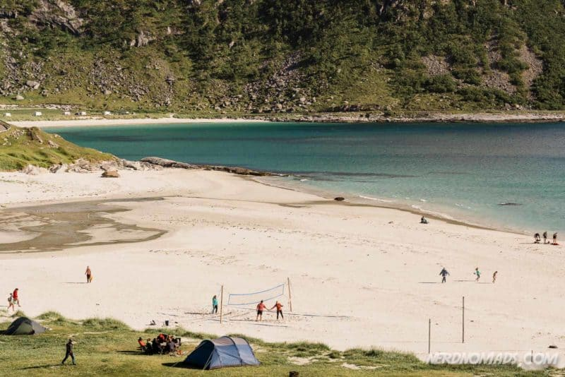 Haukland Beach Lofoten, Norway