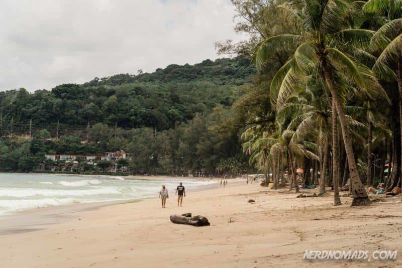 Kamala Beach in Phuket, Thailand