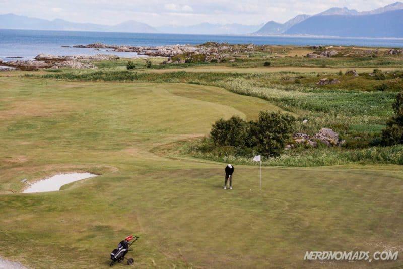 Links Lofoten Golf course