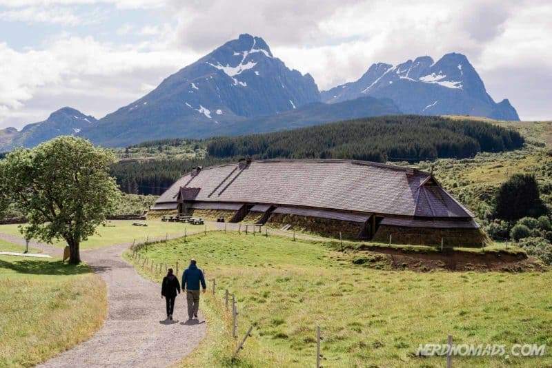 Lofotr Viking Museum in Lofoten, Norway