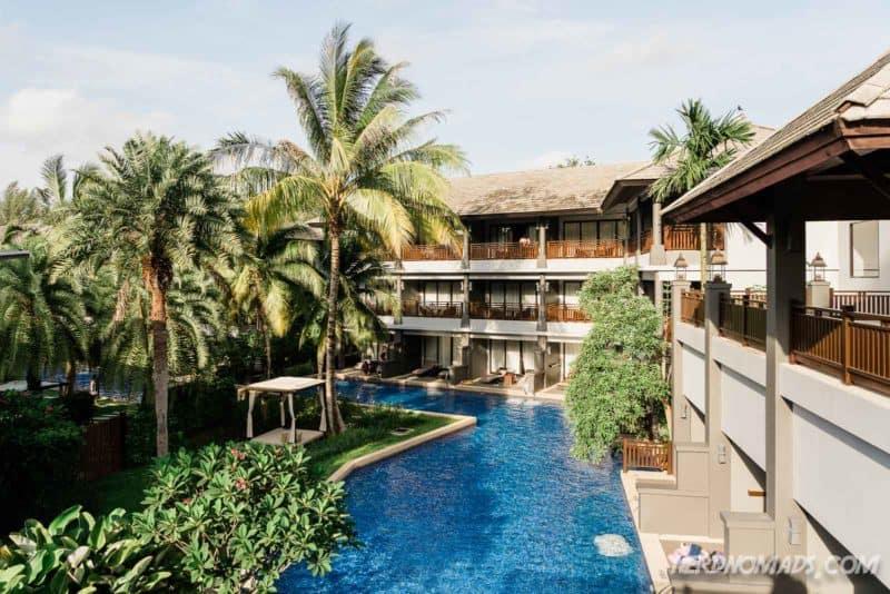 Great pool at Phuket Mariott Resort and Spa