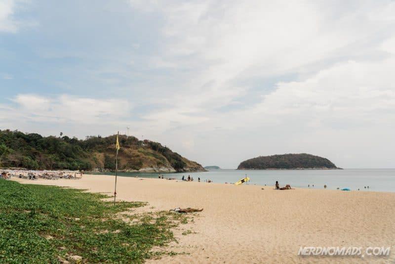 Pristine Nai Harn Beach, Phuket, Thailand