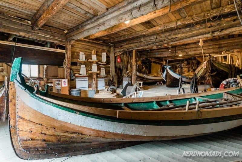 Nordlands boat Norwegian Fishing Village Museum A Lofoten