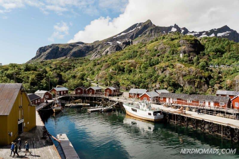 Beautiful Nusfjord in Lofoten