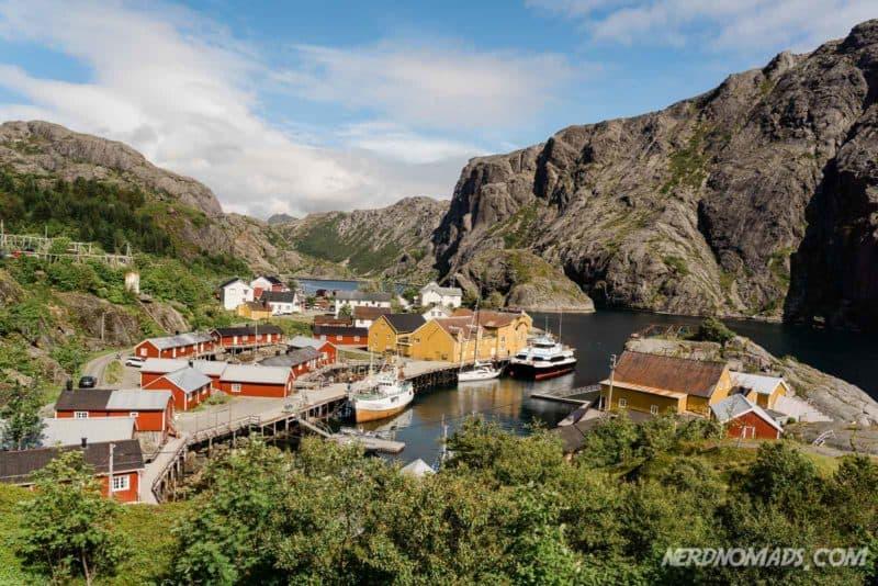 The lovely Nusfjord in Lofoten